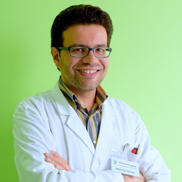 dott. Rocco Negri - Biologo -  Spec. in Biochimica Clinica - Direttore responsabile