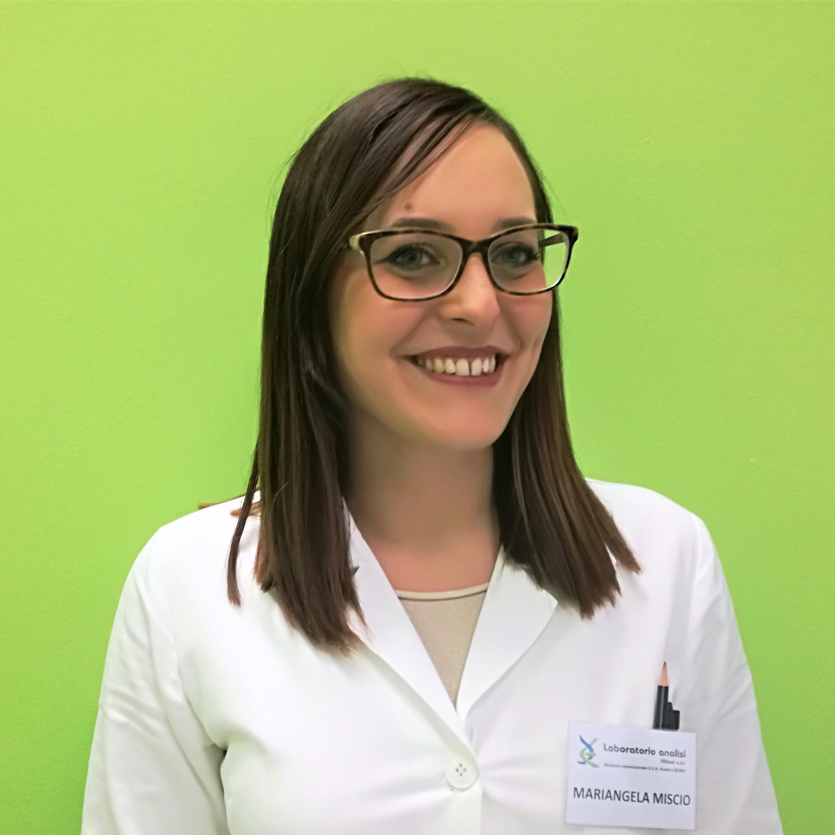 dott.ssa Mariangela Miscio - Biologa